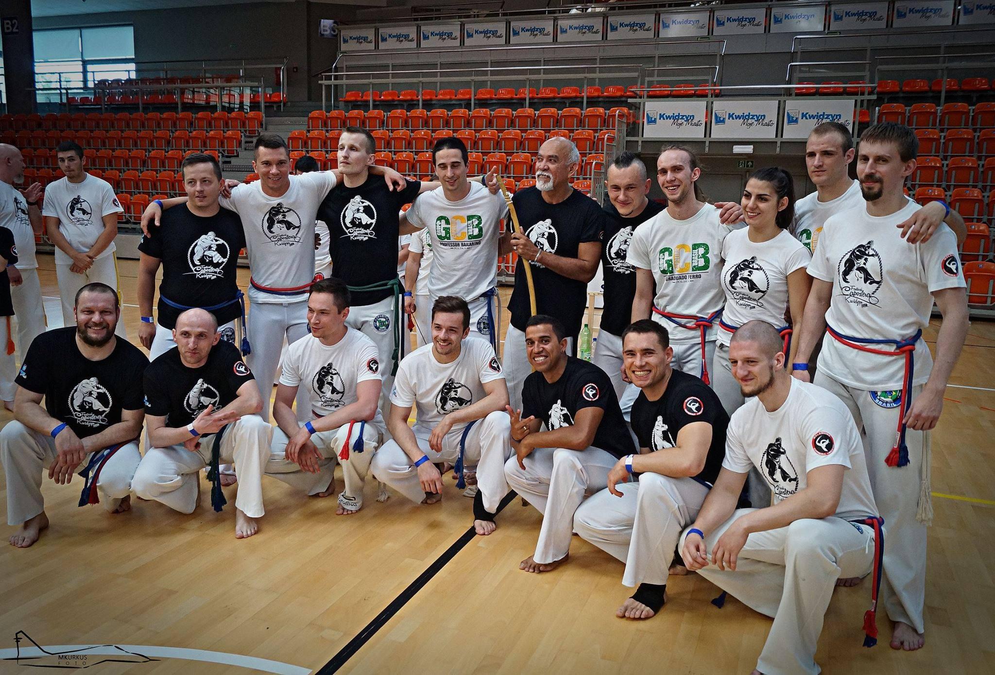 GCB Polska - Capoeira Brasil - Instrutor Mata - Czechowice-Dziedzice - Bielsko-Biała
